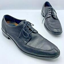 Cole Haan Lenox Hill Men Black Split Toe Dress Oxford Shoe Size 10M Pre Owned