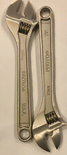 """New 12"""" Stanley PROTO TOOLS 712  Silver 300mm Adjustable Wrench"""