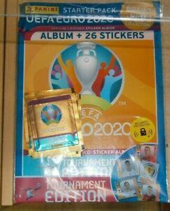 Panini UEFA Euro 2020 Tournament Edit Official Starter Pack: Album + 26 stickers