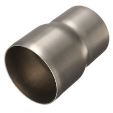 60mm to 51mm Motorcycle Mild Steel Exhaust Muffler Adapter Reducer Connector