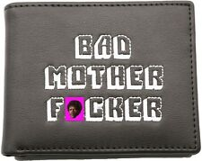 Officially Licensed PULP FICTION Bad Mother F*cker Leather Wallet Credit Card