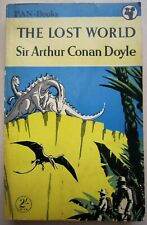 The Lost World by Sir Arthur Conan Doyle - Vintage Classic/Pulp Digest- 1952