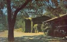 St Helena California Louis M Martini Vineyard Stone Cellar Postcard J77729
