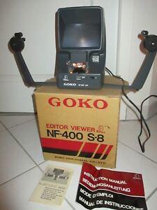 GOKO NF 400 S8 VISIONNEUSE FILBETRACHTER VISOR EDITOR