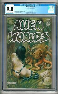 Alien Worlds #6 (1984) CGC 9.8  OW/W Pages  Jones - Brunner - Mignola - Sullivan
