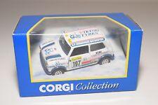 ^ CORGI TOYS 04401 4401 MINI VIKING TYRES EXPRESS RALLY WHITE MINT BOXED