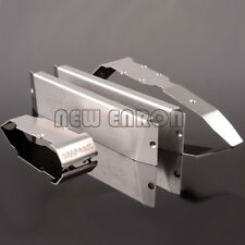 RC TRAXXAS REVO SUMMIT Stainless Steel Chassis Armor Front Rear Skid Plate