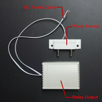 12V Liquid Flood Water Alarm Sensor Detector w/ Relay ON OFF Control Switch