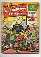 Star Spangled Comics #17 Looks Fn 6.0 1943! Guardian, TNT, Kid, Tarantula, KIRBY