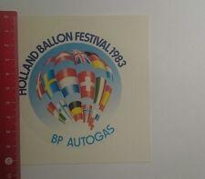 Aufkleber/Sticker: Holland Balloon Festival 1983 BP Autogas (29121632)