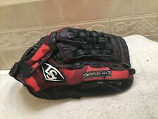 "Louisville Genesis 1884 11"" Red Youth Baseball Softball Glove Right Hand Throw"