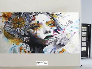 "art painting canvas print Urban princess modern Australia large white huge 71"""