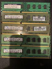 Lot Of Various Pc3 10600u DDR3 Memory