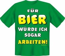 FUN TSHIRT Geschenk Bier  Geburtstag  schwarz  Gr.  S  Neu 4214