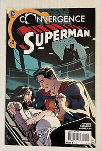 CONVERGENCE: SUPERMAN 2 NM FIRST APP OF JON KENT