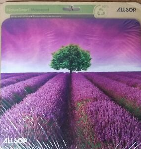 Allsop Nature Smart Mouse Pad Lavender Field 8 x 8.75 Inches NEW