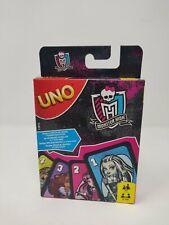 Uno Monster High Kartenspiel Mattel Games gruselige Edition Gesellschaftsspiel