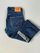 1955 LEVIS LVC VINTAGE 501 redline 29 x 30 SELVEDGE JEANS big E Made in USA