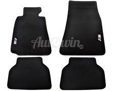 BMW 5 Series E39 Black Carpets With ///M Emblem 1995 1996 1997 1998 1999 2000