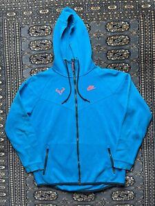 Nike Full Zip Tech Fleece Jacket Size L Rafa Nadal