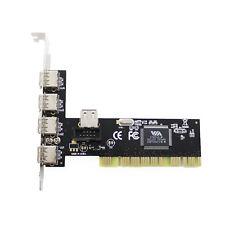 Tarjeta Controladora Media Magic PCI 5 X USB 2.0 Board UPC-124V Nueva