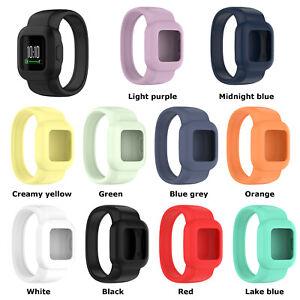 Silicone Watch Band Strap Bracelet Replacement for Garmin Vivofit jr.3 Smart
