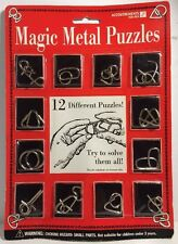 Accoutrements Magic Metal Puzzles 12 Different Puzzles 09972