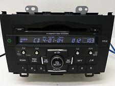 HONDA CR-V XM RADIO 6 CD DISC CHANGER MP3 Player OEM STEREO UNIT 07 08 09 10 11