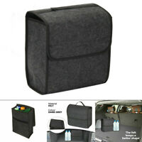 Car Boot Organiser Carpet Storage Hook Loop Case Travel Tool Trunk Storage Box