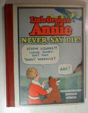 LITTLE ORPHAN ANNIE NEVER SAY DIE #5 HAROLD GRAY 1930 CUPPLES AND LEON NICE