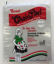 """NEW! Bosal Chair Pad Polyurethane Foam Washable 15"""" x 17"""" x 2"""""""
