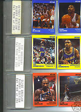 Detroit Pistons-l99l Star Co.GLOSSY SET(Only250 PROD.)