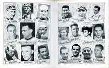 VAN STEENBERGEN OCKERS BARTALI BOBET KOBLET Cyclisme 1950 World Champion Monde