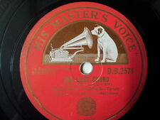 "78 rpm 12""  THE LOST CHORD/ THORA , Richard Crooks"
