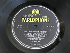 "The Beatles "" HELP"" 1969 UK  Original STEREO PCS 3071 British Invasion LP. EX+"
