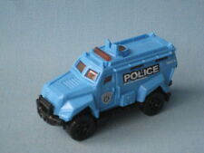 Matchbox Police Rescue Emergency Riot Swat Vehicle Blue USA Toy Model Car