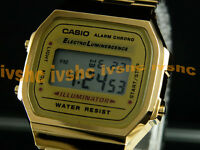 CASIO Vintage Retro Gold A168W A168WG-9 Free Ship !