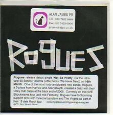 (188D) Rogues, Not So Pretty - DJ CD