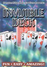 Invisible Deck  - Materialisation der vom Zuschauer frei gewählten Karte (20007)