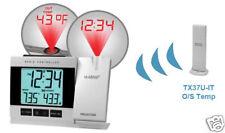 (BULK WHOLESALE PACK x10) WT5220-ER-IT La Crosse Weather Projection Alarm Clock