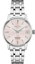 New Seiko Presage Automatic Sunray Dial Stainless Steel Women's Watch SRP839