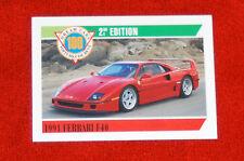 1991 Ferrari F40 - Panini Canada Ltd Dream Cars Series #83