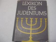 LEXIKON DES JUDENTUMS GERMAN Jewish Judaica by John F Oppenheimer