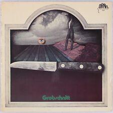 GROBSCHNITT: Self Titled BRAIN 0001.008 Kraut Germany Vinyl LP NM 2nd Press