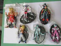 Set 6 Figura Dragon Ball 8cm Goku Broly Congelador Bardock