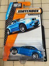 Matchbox BMW M1 Blue MBX Adventure City On A Mission 71/120