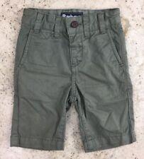 Barbour Boys Xxs Age 2 - 3 Years Khaki Shorts