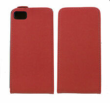 Luxury Genuine Real Leather Flip Case Cover for BlackBerry Z10 UK free dispatch