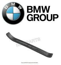 BMW E39 525i Front Passenger Right Door Sill Plate Black Genuine 51478178120