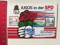 Aufkleber/Sticker: Jusos In Der SPD Duisburg - Politik Mit Elan (17041643)